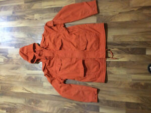 Eddie Bauer Men's Orange Jacket LARGE