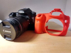 Canon 70D +18-135mm+cover