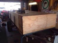 Woods trailer for side by side or on road use. $300