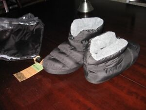 Camping booties or use at home. Men's. Warmest.