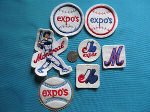 7 ECUSSON PATCH CREST BADGE MONTREAL EXPO EXPOS baseball