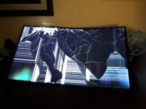 Damaged Samsung Electronics UN65MU6500 Curved 65-Inch 4K