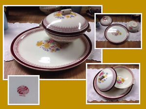 Set  Staffordshire England #031