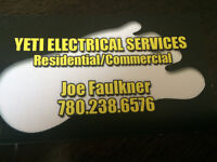 Yeti electrical services.