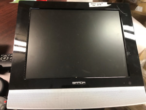 flat screen tv with built in dvd
