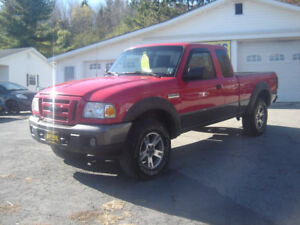 2007 FORD RANGER EXT. CAB 4X4