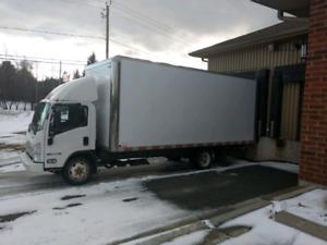 Camion 20 pieds ISUZU
