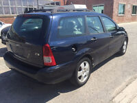 2003 Ford Focus Wagon ZTW Top Spec