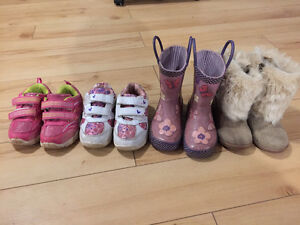 Girls sneakers and boots all for $40