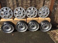 "Mini 15"" wheels and trims set of 4"