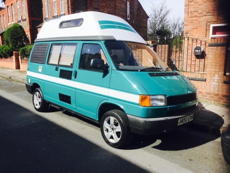 1991 j volkswagen t4 2 4 diesel coachbuilt hightop camper. Black Bedroom Furniture Sets. Home Design Ideas