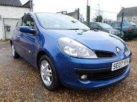 Renault Clio 1.4 16V 98 DYNAMIQUE (blue) 2007
