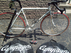 Colnago(1970)with campy (1995) velco groupo