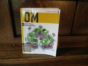 Operations Management  Collier/Evans 5th ed