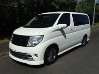 2005 Nissan Elgrand 2500 RIDER 8 SEATER FRESH IMPORT 5dr