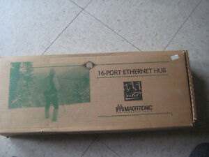 Magitronic 16 Port Ethernet Hub