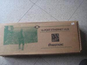 Magitronic 16 Port Ethernet Hub