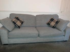 Sofa, Arm Chair and Foor Stool