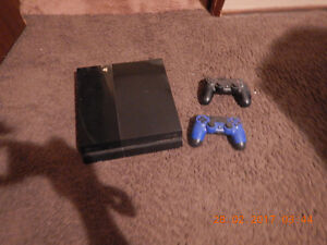 playstation 4 and 8 games