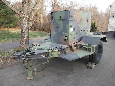 15kw Kw Mep-804a 242hrs Diesel Military Emp Proof Tactical Quiet Generator