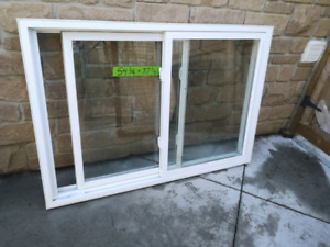 Thermal windows double slider