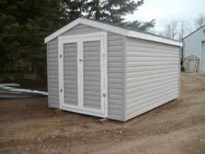 sided 8x12 shed