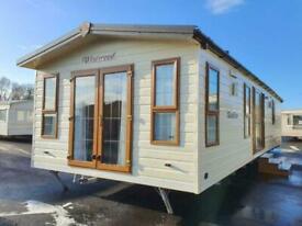 Static caravan Abi Westwood lodge 40x13 2bed DG/CH free UK delivery.