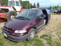 1998 Dodge Caravan - equipped for camping