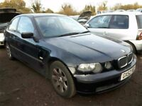 2002 BMW 3 SERIES 316TI SE NOW BREAKING FOR PARTS
