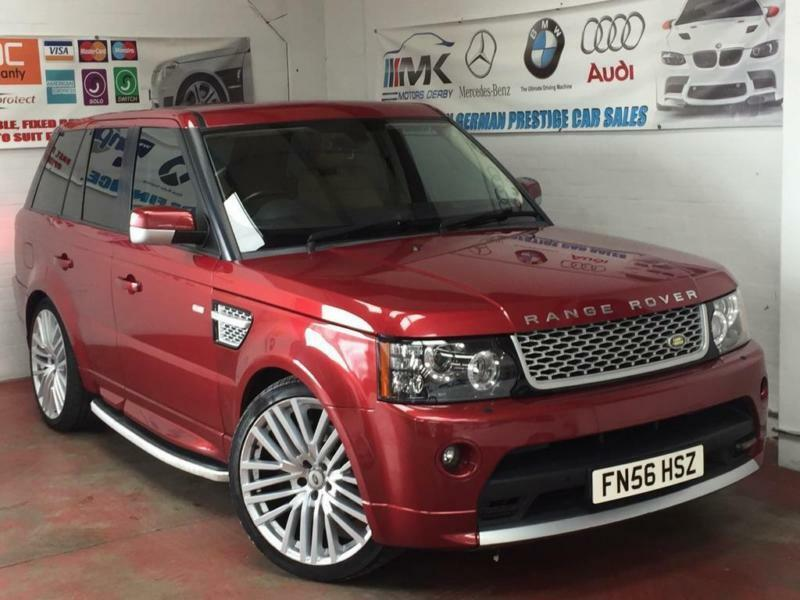 2006 land rover range rover sport 2 7 td v6 hse 5dr in. Black Bedroom Furniture Sets. Home Design Ideas