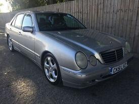 2001 51 Mercedes-Benz E320 3.2TD CDI Avantgarde Auto 47.9 mpg
