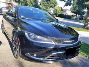 2016 Chrysler 200C, 3.6L V6, FWD, Fully Loaded