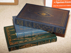 Three Franklin Mint Books Moby Dick Reivers Sound and the Fury London Ontario image 2