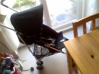 mothercare spin graphite pushchair