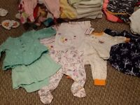 Baby Girl clothes - 0-3 months