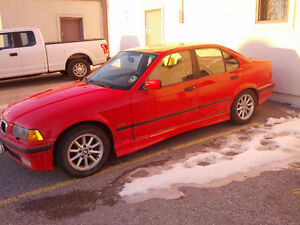 328i 1997 For Parts, Tires, Rims