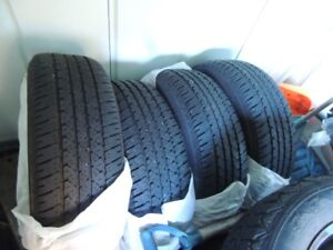 215/60  R17 Firestone Winter tires