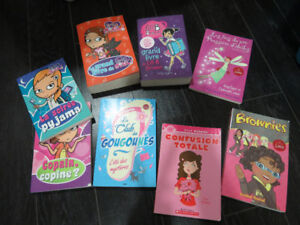 Livres jeunesse (Go girl, Lili B Brown, Brownies, etc.)