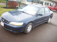 *$1295*1999 Honda Accord.Inspected til sept 2016 May Trade