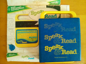 TI Speak&Read w Cover, Box, Missing Story Book and Battery Cover London Ontario image 2