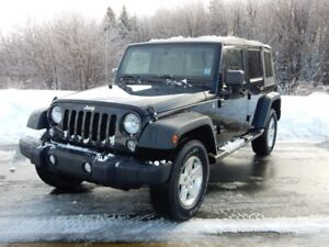 2015 Jeep WRANGLER SPORT 4 DOOR SOFT TOP!  AMAZING TRADE