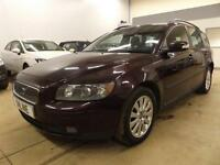 VOLVO V50 D S, Purple, Manual, Diesel, 2007
