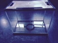 Fish Tank c/w Food and Accessories