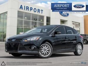 2014 Ford Focus Titanium with only 51,886 kms