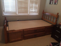 Twin mates bed for sale