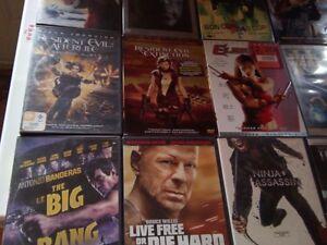 Lot de 15 bon film d action en dvd pour 20$