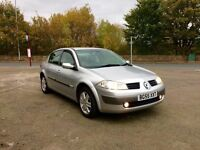 2006 Renault Megain 1.6 petrol low mailge