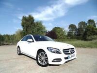 2014 Mercedes C220 C-Class Sport Premium Plus BlueTec 7G-Tronic 1 Owner From New