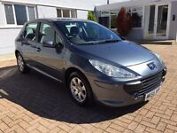 2005 Peugeout 307 S 1.4 petrol LOW MILEAGE