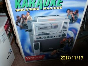 karoke machine